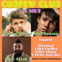 Livestream Curfew Club: Niek Roozen, Vincent Visser, Sjaak e.a.