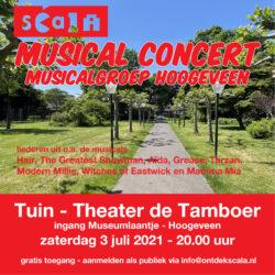 Tuinconcert Scala Musical Entertainment Groep