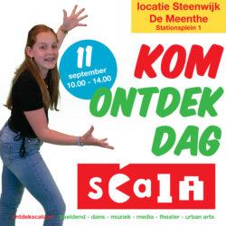 Ontdekdag Scala Steenwijk – kom kijken en meedoen in De Meenthe