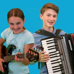 Inloopweek muzieklessen voor kinderen en volwassenen 1 t/m 5 november 2021